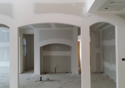 Calgary drywall taping project