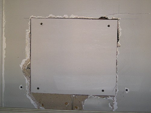 Calgary drywall repair patch